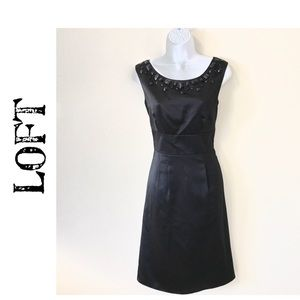 Ann Taylor Loft Little Black Dress Size 4 Like New